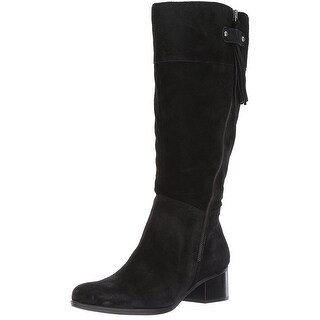 Naturalizer Womens demi Leather Almond Toe Knee High Fashion Boots