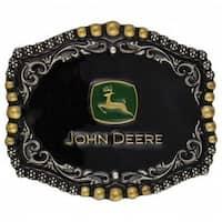 Montana Silversmith Belt Buckle Adult Attitude John Deere Black - One size