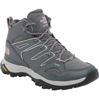 The North Face Women's Hedgehog Fastpack II Mid Waterproof Hiking Boot Zinc Grey/Mauve Shadows