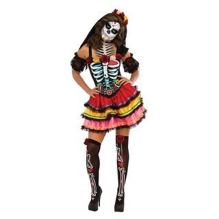 Womens Señorita Muerta Day of the Dead Costume