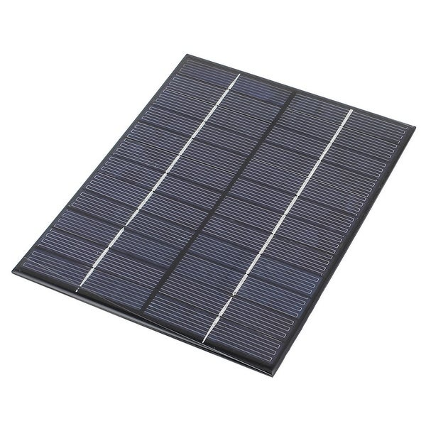 12V 5.2W DIY Polycrystallinesilicon Solar Panel Power Battery Charger 210x165mm
