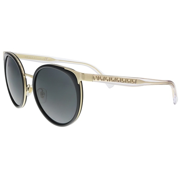b05062e1d05 Versace VE2185 125287 Black Cat Eye Sunglasses - 54-20-140. Click to Zoom