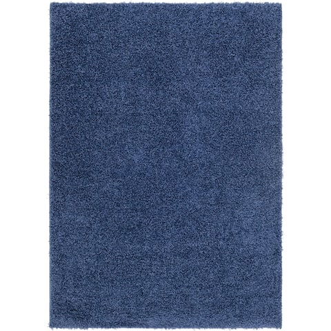 Havannah Blue Tufted Shag Rug