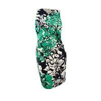 Lauren Ralph Lauren Women's Printed Sheath Dress - Black/Green