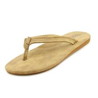 Flojos Clover Open Toe Synthetic Flip Flop Sandal