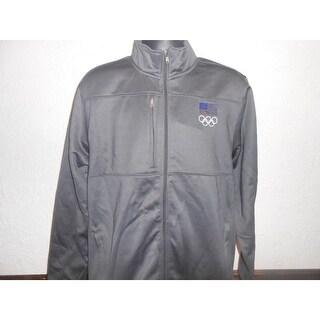 Flaw Team USA Olympics USA Unisex Size Large Embroidered Jacket