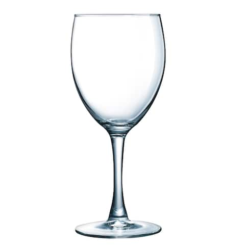 Luminarc Atlas 12 Ounce Goblet Glass, Set of 4