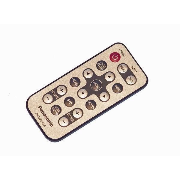 OEM Panasonic Remote Control Originally Shipped With: PTL701XSDU, PT-L701XSDU, PTL701XU, PT-L701XU, PTL711E, PT-L711E