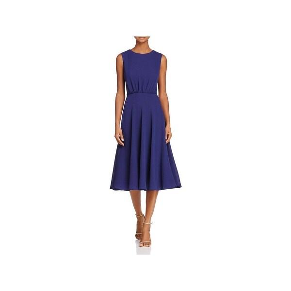 Betsey Johnson Womens Maxi Dress Crepe Sleeveless
