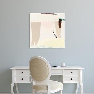 Easy Art Prints Aliza Cohen's 'Light and the Desert' Premium Canvas Art