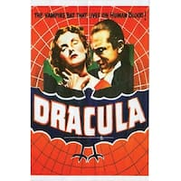 Dracula Movie Poster Cling Halloween Decoration