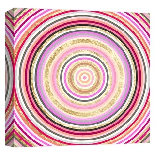 """PTM Images 9-124719  PTM Canvas Collection 12"""" x 12"""" - """"Color Swirl"""" Giclee Patterns and Designs Art Print on Canvas"""