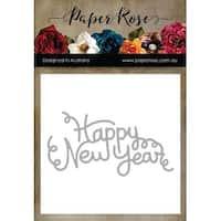 Happy New Year - Paper Rose Dies