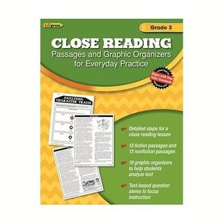 Edupress EP-2561 Close Reading Practice Book Grade 3
