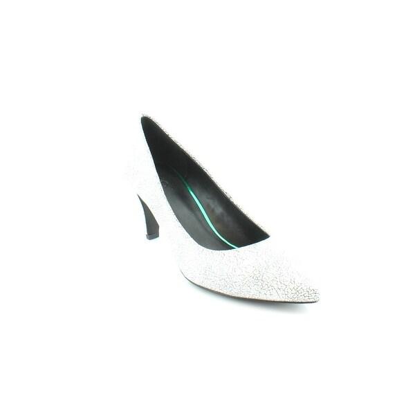 Shop Logo By Lori Goldstein Joan Womens Heels Blkwht Free