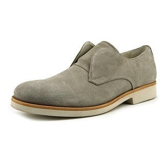 Calvin Klein Federico Men Round Toe Suede Gray Loafer