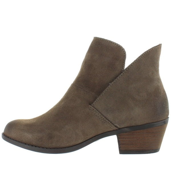 Me Too Womens ZENA 14 Leather Almond Toe Ankle Fashion Boots - 8