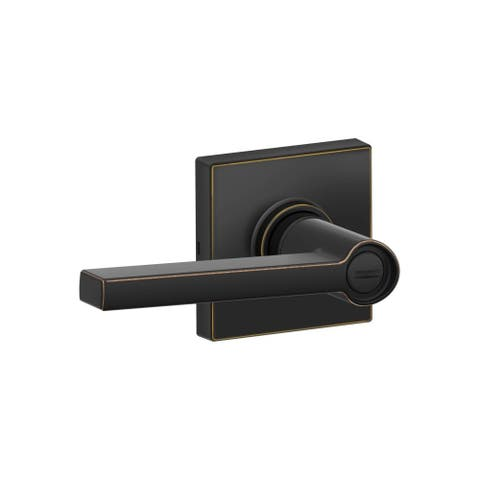 Schlage J40-SOL-COL Solstice Privacy Door Lever Set with Decorative Colton Trim (Formerly Dexter)