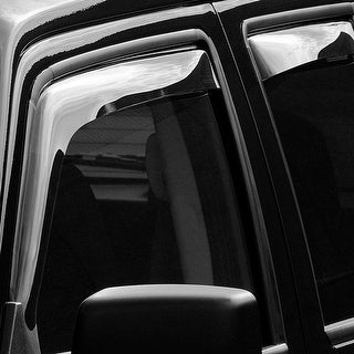 WeatherTech Jeep Patriot 2007+ Light Smoke Front/Rear Side Window Deflector Set 72444 Series