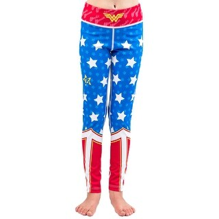 Fusion Fight Gear Kid's Wonder Women Compression Spats