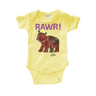 Baby Snapsuit - Eric Carle Rawr! Bear Newborn Shirt