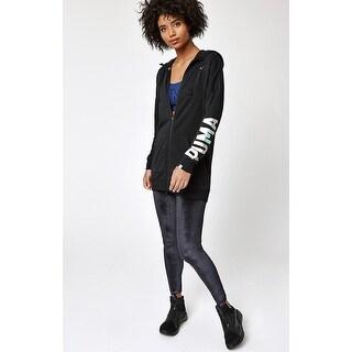 Puma High-Rise Velvet Leggings Black Size Small - S