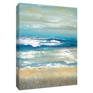 "PTM Images 9-148541  PTM Canvas Collection 10"" x 8"" - ""Distant Horizon"" Giclee Abstract Art Print on Canvas"
