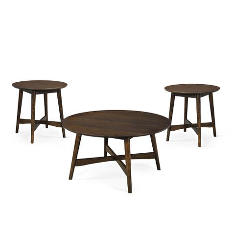 Behrens Indoor Wood Table Set by Christopher Knight Home
