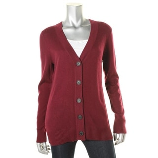 Private Label Womens Cashmere Button Front Cardigan Sweater