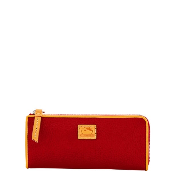 Dooney & Bourke Patterson Leather Zip Clutch Wallet (Introduced by Dooney & Bourke at $128 in Dec 2016)
