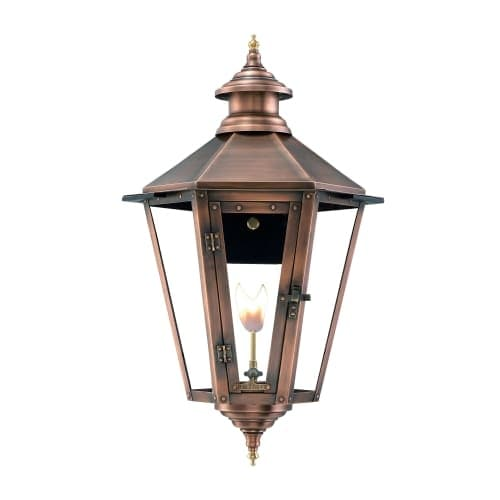 "Primo Lanterns NW-32G Nottoway 33"" Wide Outdoor Wall-Mounted Lantern Natural Gas Configuration"