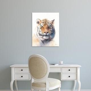 Easy Art Prints Eric Sweet's 'Tiger' Premium Canvas Art