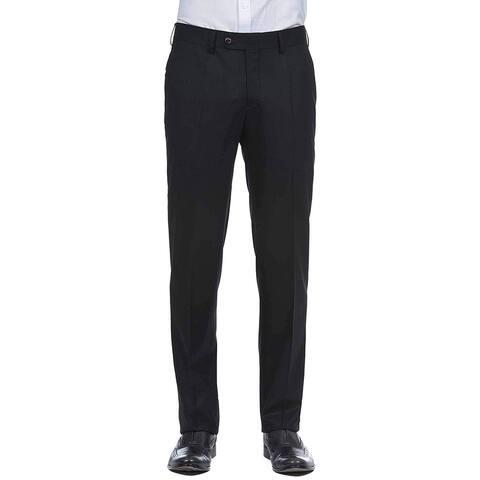 Robert Graham Mens Pants Black Size 34X37 Straight Dress - Flat Front