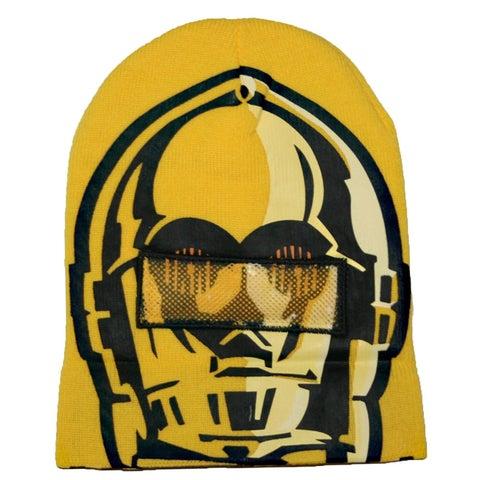 Star Wars C3PO Flip Down Mask Beanie
