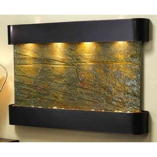 Adagio SSR1502 Sunrise Springs - Green Natural Slate Wall Fountain