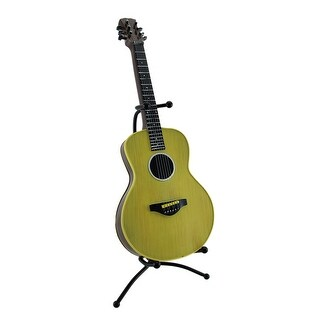 Classic 6 String Acoustic Guitar Coin Bank Piggy Bank w/Stand - 15 X 7 X 6 inches