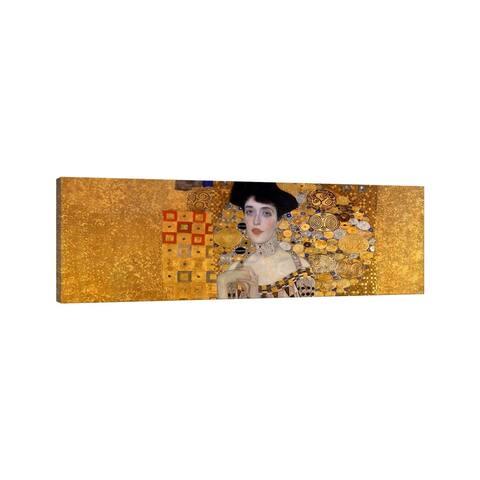 "iCanvas ""Portrait of Adele Bloch-Bauer I"" by Gustav Klimt Canvas Print"