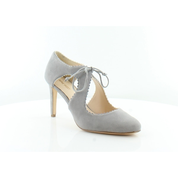 Nine West Hypatia Women's Heels Grey/GRY - 10.5
