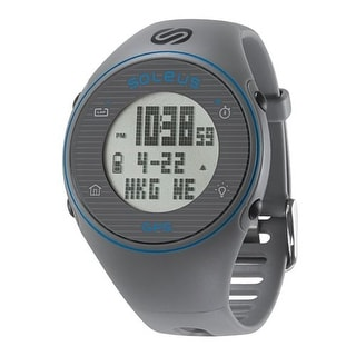 Soleus GPS One grey/blue Watch