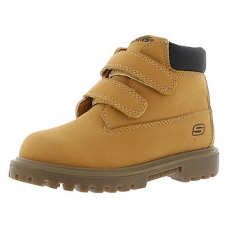 Skechers Double Strap 6 Boots Boy's Shoes