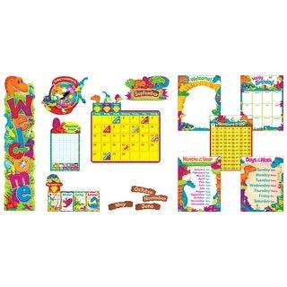 Trend Enterprises Dino-Mite Pals Everyday Super Pack Bulletin Board Set