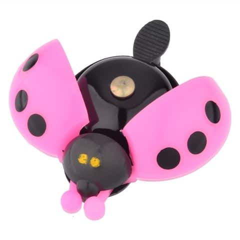 Lady Bug Bike Bell - Red