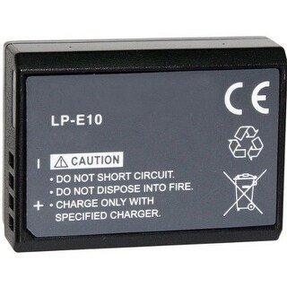 New Replacement Battery LP-E10 For CANON Camera Models 900mAh 7.4V Lithium Ion