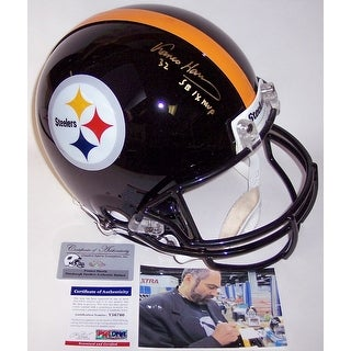 Franco Harris Autographed Hand Signed Pittsburgh Steelers Authentic Helmet - PSA/DNA