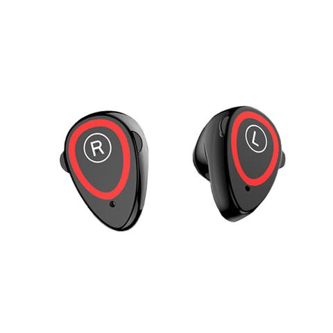 Indigi® M1 SmartWatch w/ EarBuds, Noise Cancelling, Fitness Tracking - Magnetic Charging Case (Black)