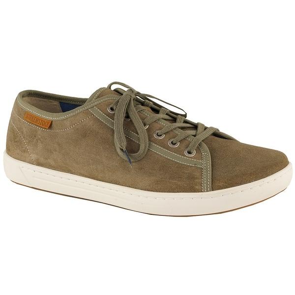 c8c3b10eccbbd9 Shop Birkenstock Men s Arran Suede Leather Shoes - Gray Brown - Free  Shipping Today - Overstock - 24186417