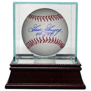 Goose Gossage signed Official Rawlings Major League Baseball HOF 2008 Inscribed w/ Glass Case (New York Yankees)