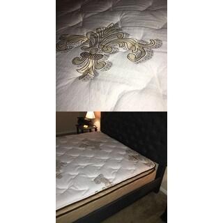 NuForm Quilted Pillow Top 11-inch Queen-size Foam Mattress
