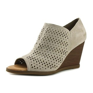 Dr. Scholl's Possibility  Women  Open Toe Synthetic Gray Wedge Heel
