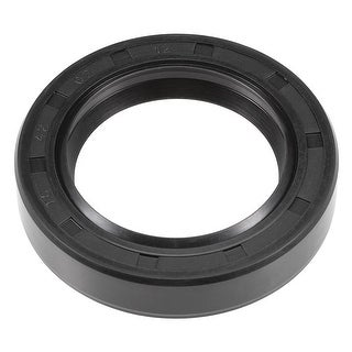 Oil Seal, TC 42mm x 62mm x 12mm, Nitrile Rubber Cover Double Lip - 42mmx62mmx12mm